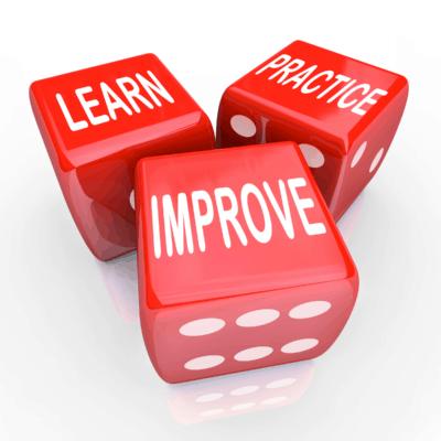 learn practice improve