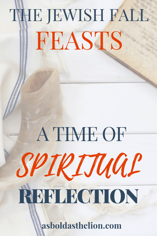 spiritual reflection jewish fall feasts