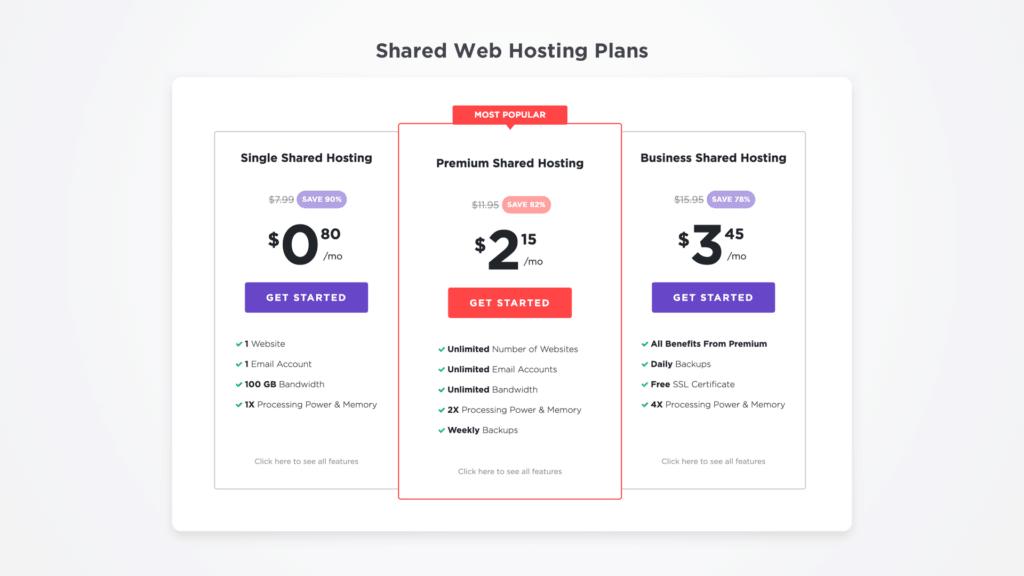 buy self-hosted WordPress blog at 90% off