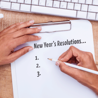 Don't Set New Year's Resolutions. Do This Instead