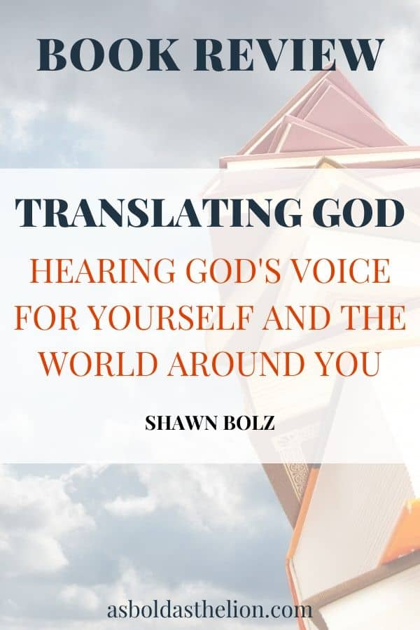 book review: translating God