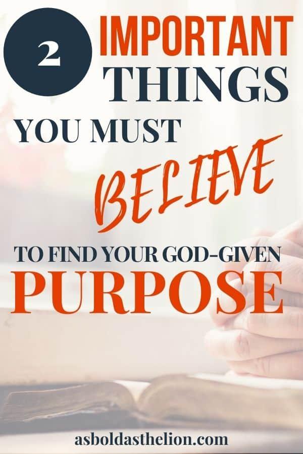 life of purpose