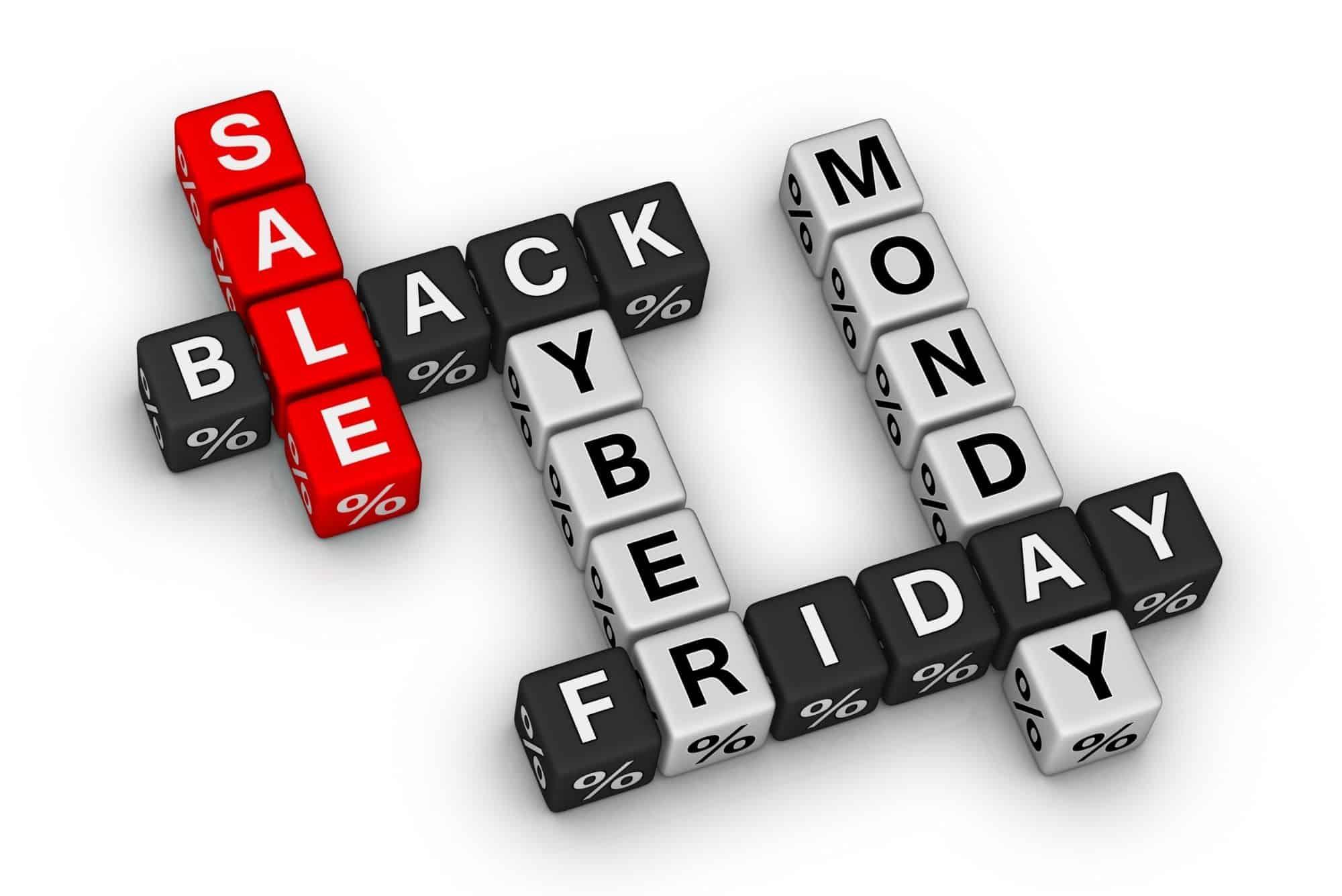 black friday cyber Monday crossword blocks