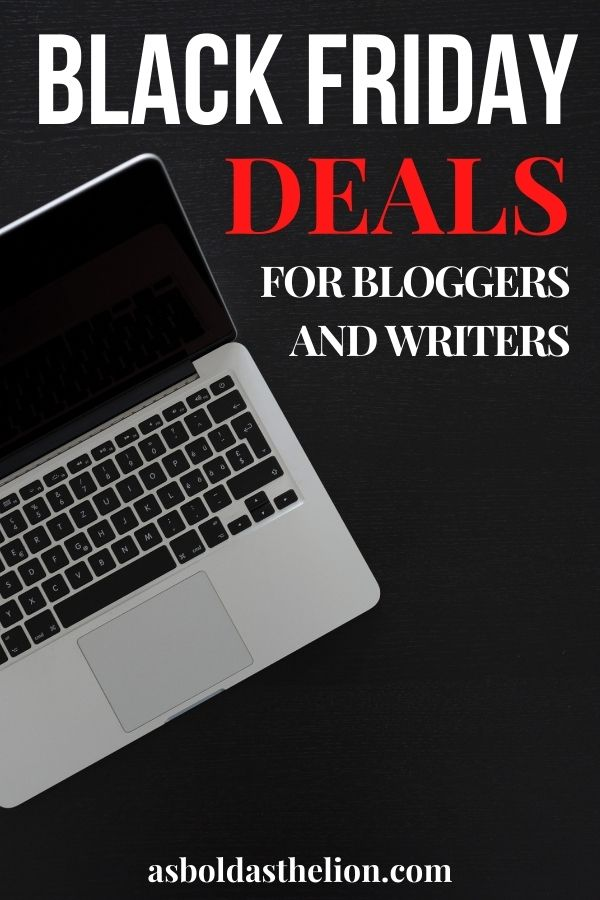 Black Friday 2020 for bloggers and writers